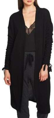 1 STATE 1.STATE Ruched Sleeve Cardigan
