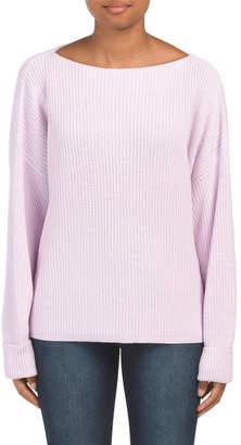 Millie Mozart Boat Neck Sweater