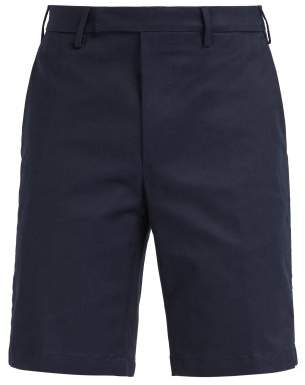 Privee Salle Salle Steven Chino Shorts - Mens - Dark Blue