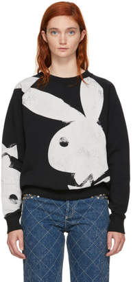Marc Jacobs Black Playboy Bunny Sweatshirt