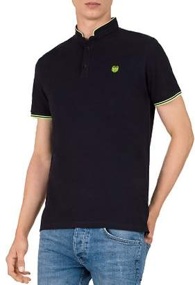 The Kooples New Shiny Pique Classic Fit Polo