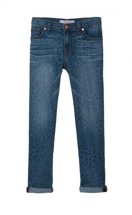 J Brand Aoki Distressed Cuff Jeans