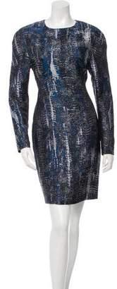 Stella McCartney Patterned Sheath Dress w/ Tags