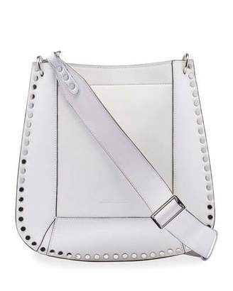 Isabel Marant Oskan New Studded Leather Hobo Bag