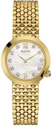 Bulova Women's Analog Diamond Bracelet Watch, 28mm - 0.03 ctw