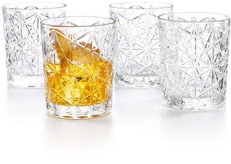 Bormioli Lounge Double Old Fashioned Glasses, Set of 4
