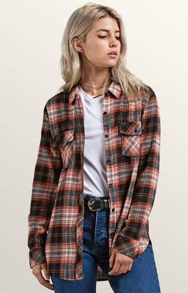 Volcom Getting Rad Plaid Long Sleeve Shirt