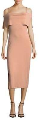 Rachel Pally Maternity Pascal Bodycon Cold Shoulder Dress