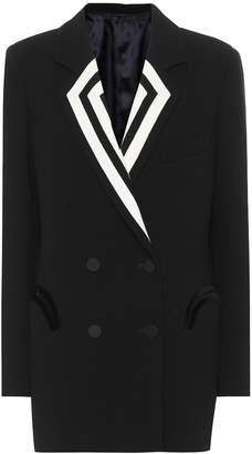 BLAZÉ MILANO Double-breasted wool blazer