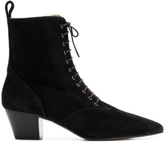 L'Autre Chose lace-up ankle boots