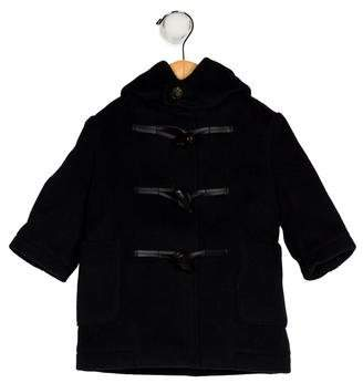 Burberry Boys' Wool Hooded Coat w/ Tags