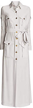 Ralph and Russo Women's Belted Maxi Trench Dress