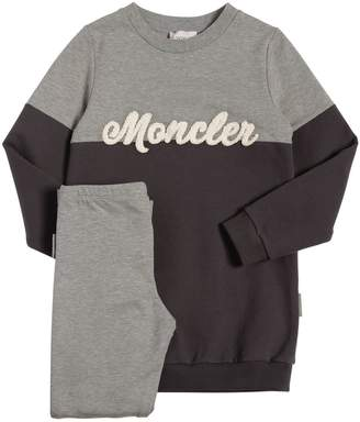 Moncler Cotton Fleece Sweatshirt & Leggings