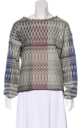 Giada Forte Wool Woven Top