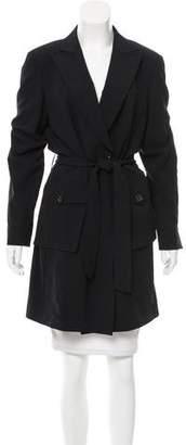 Pauw Wool Belted Jacket w/ Tags
