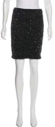 AllSaints Sequined Mini Skirt