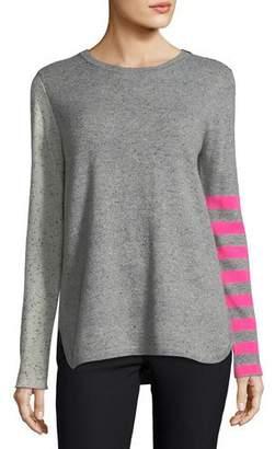 Lisa Todd Pop Rocks Cashmere Striped Sweater, Petite