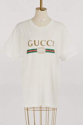 275f7baa Gucci Logo T Shirts - ShopStyle UK