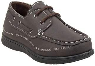 Josmo Lace up Toddler Boys Boat Shoes