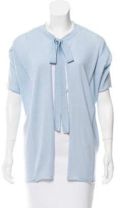 Dolce & Gabbana Short Sleeve Knit Cardigan