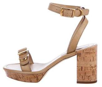 Stella McCartney Buckle-Accented Platform Sandals
