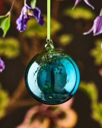 Christian Lacroix Ombre Glass Shiny Ball Ornament