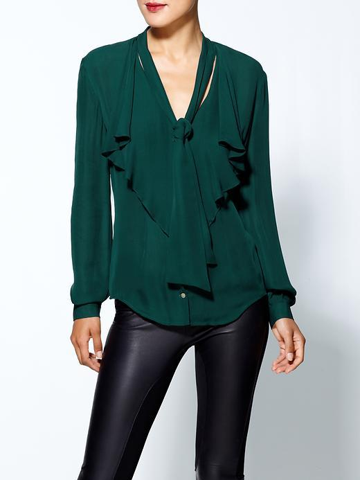 Madison Marcus Eloquence Long Sleeve Silk Blouse