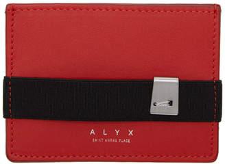 Alyx Red Ryan Card Holder