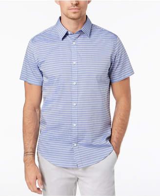 Calvin Klein Men's Horizontal Striped Shirt