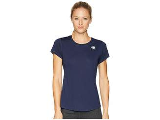 New Balance Accelerate Short Sleeve Women's Clothing