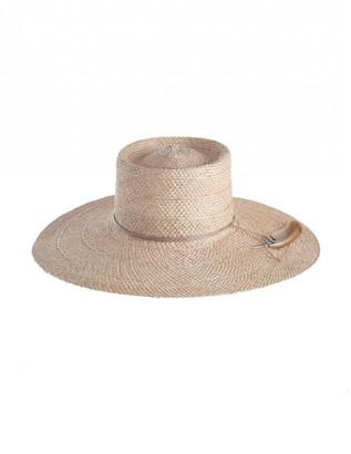 Zimmermann Cross Weave Sisal Straw Hat