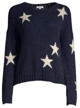 Rails Perci Lurex Star Print Sweater