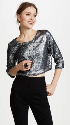 Loyd/Ford Sequin Crop Top