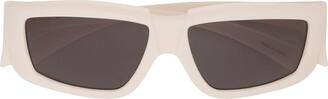 Rick Owens rectangular frame sunglasses
