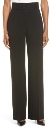 Women's Classiques Entier Wide Leg Suit Pants $229 thestylecure.com