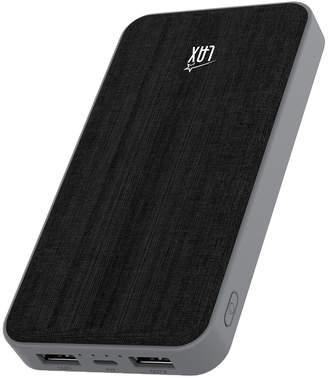 LAX Gadgets Lax Gadgets Fabric 10000Mah Dual Usb Portable Power Bank