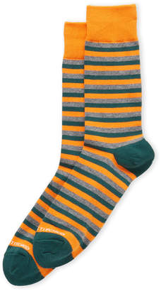N. Unsimply Stitched Stripe Crew Socks