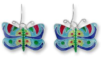 Calypso Zarah Butterfly Enamel Earrings