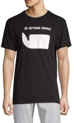 G Star Logo Cotton Tee