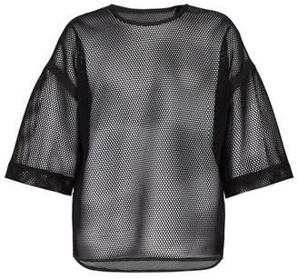 Fendi Mesh T Shirt - Mens - Black