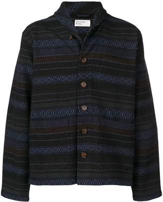 Universal Works textured shirt jacket