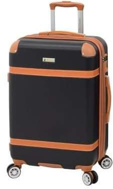 "London Fog Vintage 24"" Expandable Hardside Spinner Suitcase"