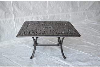 Co Darby Home Kristy Aluminum Coffee Table