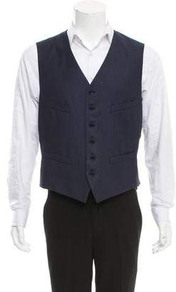 John Varvatos Wool Suit Vest