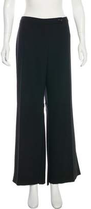 Valentino High-Rise Virgin Wool Pants