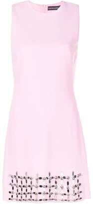 David Koma gem embellished dress
