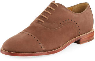 Michael Bastian Brando Perforated Suede Oxford