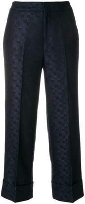 Pt01 embroidered Shala trousers