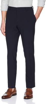 Perry Ellis Men's Portfolio Slim Fit Stretch Seersucker Dress Pant