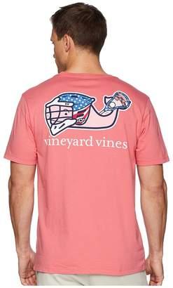 Vineyard Vines Short Sleeve Lax Bro Whale Pocket Tee Men's T Shirt